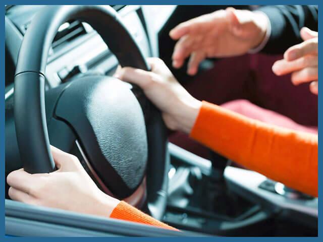 Индивидуальные занятия по вождению