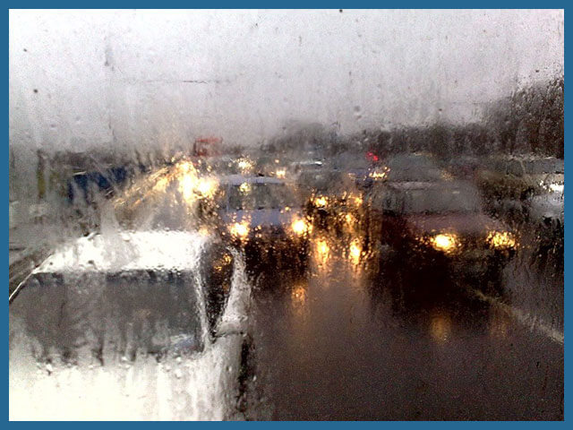 Вождение автомобиля в непогоду