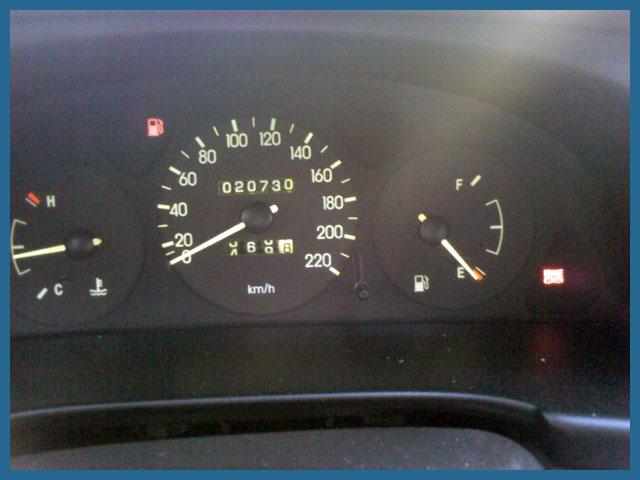 Бензин на минимуме