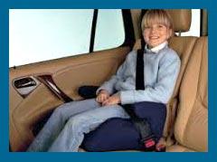 Важность автокресел booster для перевозки детей