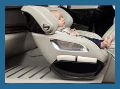 В компании Volvo создали уникальное детское сиденье