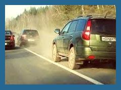 Движущимся по обочине автомобилям больше не уступят дорогу