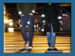 Ночных пешеходов будет видно издалека