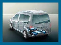 Volkswagen Caddy TGI: скоро появится вариант на природном газе