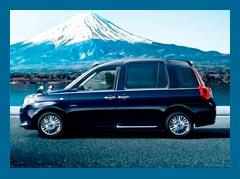 Кэб Toyota JPN Taxi: дух японского гостеприимства