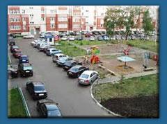 За неправильную парковку во дворах придут