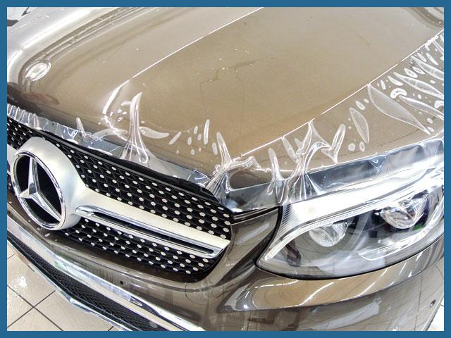 Оклейка авто полиуритановой пленкой