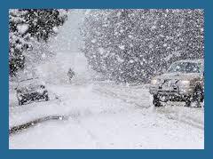 Основные правила вождения в снегопад и гололёд